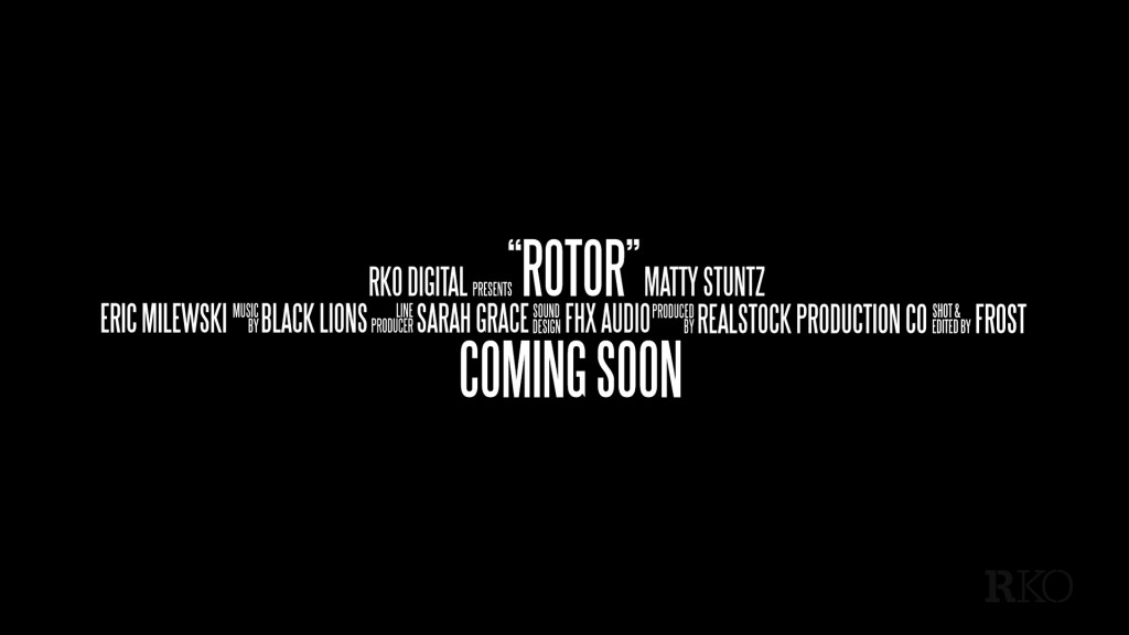 """Rotor"" An FPV Documentary Credit Block"